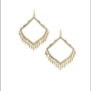Kendra Scott Lacy Shaker Earrings/gold